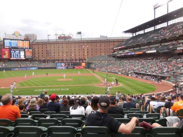 Oriole Park at Camden Yards, section: 44, row: 22, seat: 4