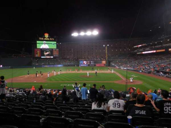 Oriole Park at Camden Yards, section: 48, row: 22, seat: 4