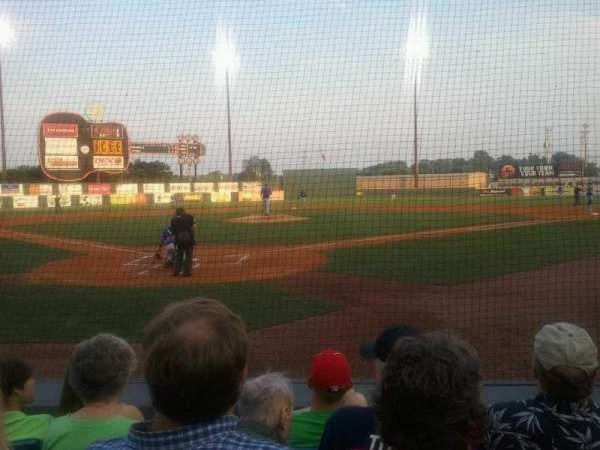 Herschel Greer Stadium, section: M, row: 6, seat: 6