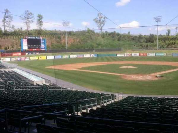 Smokies Park, section: behind gift shop