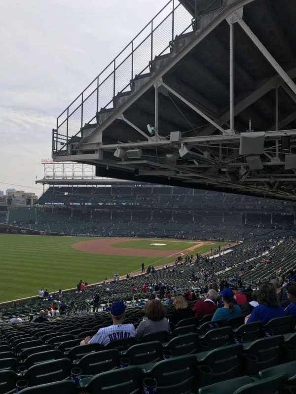 Wrigley Field, section: 203