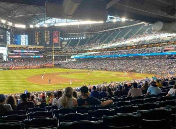 Chase Field, section: 130, row: 38, seat: 19
