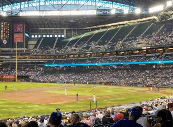 Chase Field, section: 131, row: 34, seat: 19