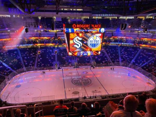 Rogers Place, section: 220, row: 8, seat: 20