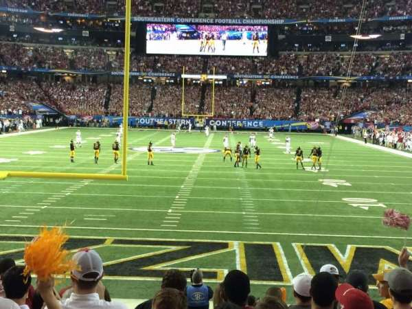 Georgia Dome, section: 125, row: 9, seat: 8