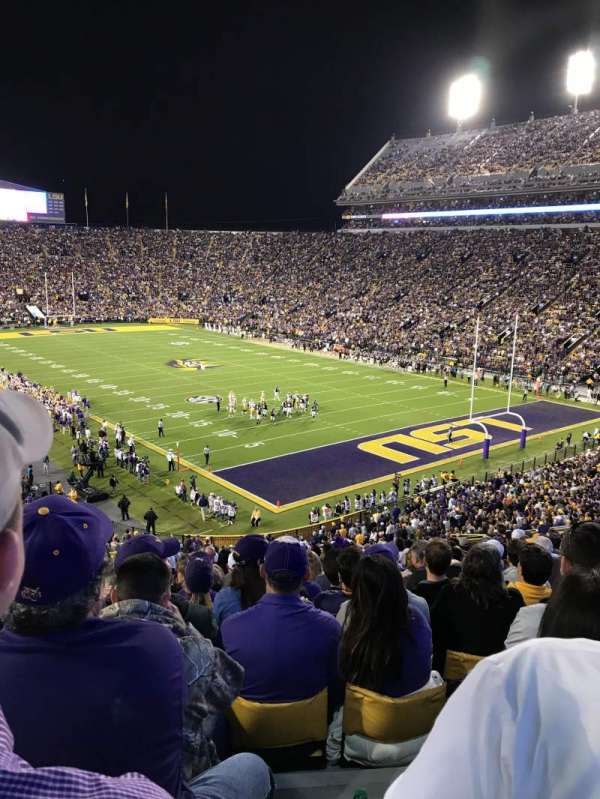 Tiger Stadium, section: 420, row: 20, seat: 20