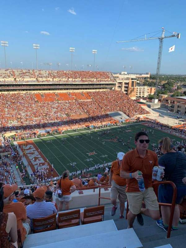 Texas Memorial Stadium, section: 109, row: 32, seat: 23,24