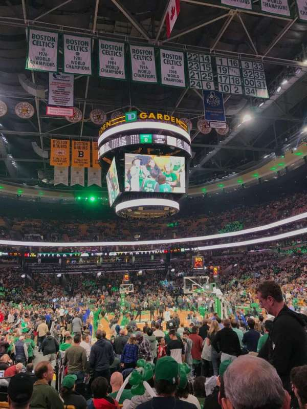 TD Garden, section: Loge 18
