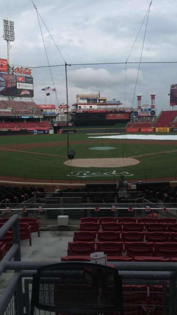 Great American Ball Park, section: 24