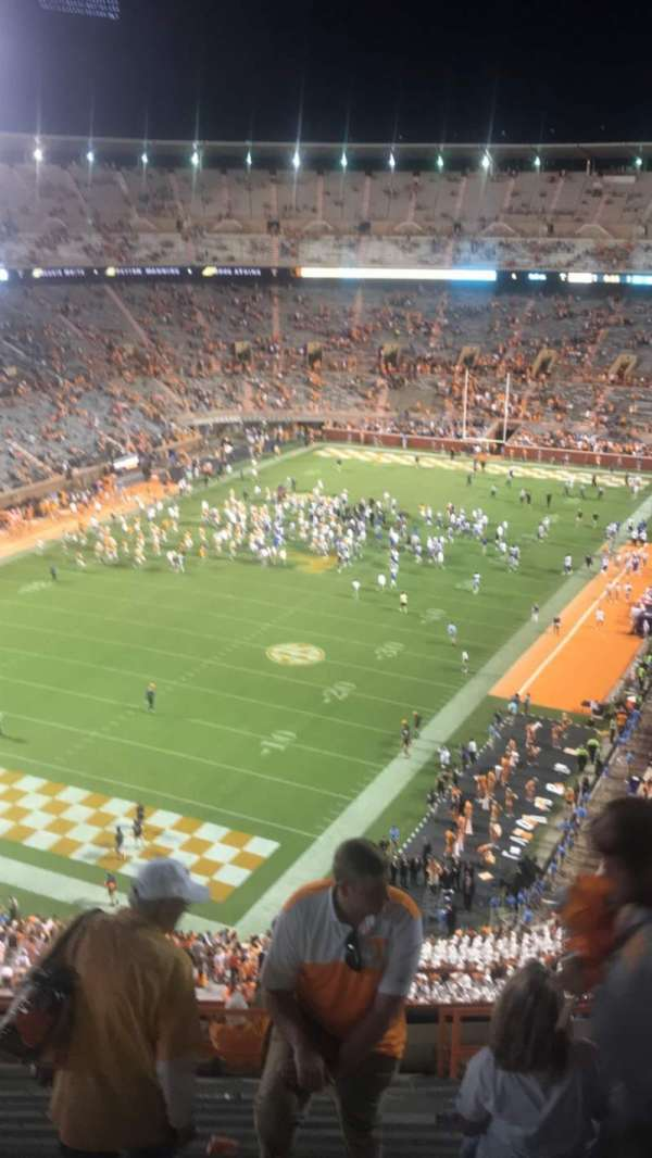 Neyland Stadium, section: II, row: 16, seat: 9