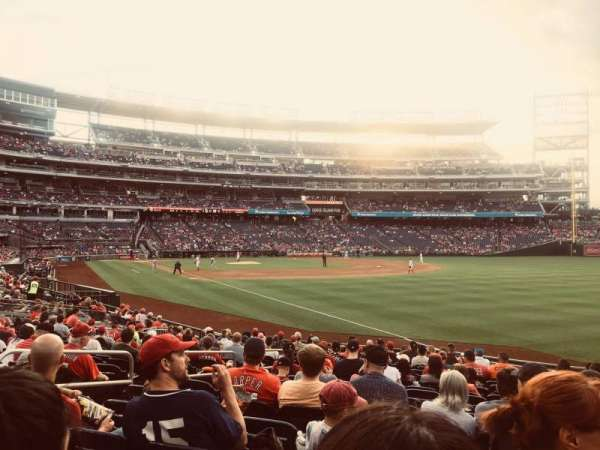 Nationals Park, section: 136, row: K, seat: 21