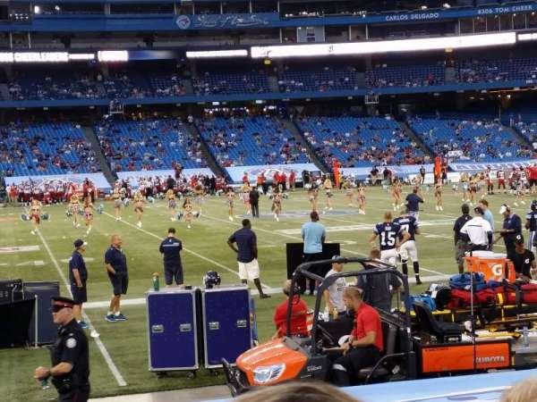 Rogers Centre, section: 112, row: 13, seat: 1