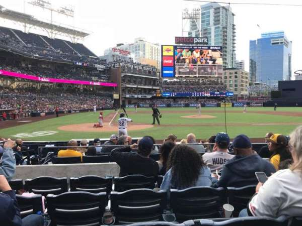 PETCO Park, section: FV105, row: 11, seat: 4