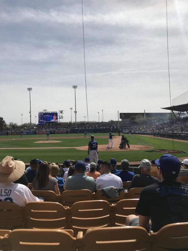Camelback Ranch, section: 8, row: 9, seat: 4