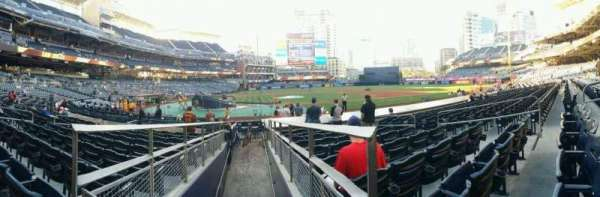 PETCO Park, section: 105, row: 16, seat: 10