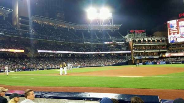 PETCO Park, section: 113, row: 4, seat: 9