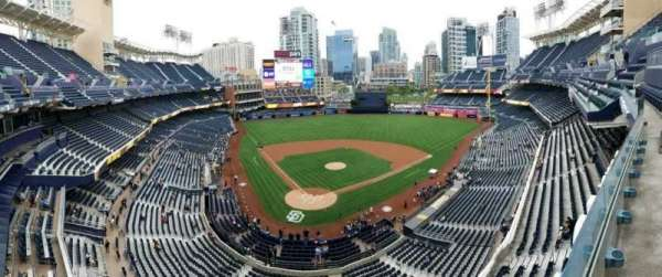 PETCO Park, section: 303UB, row: 3, seat: 3