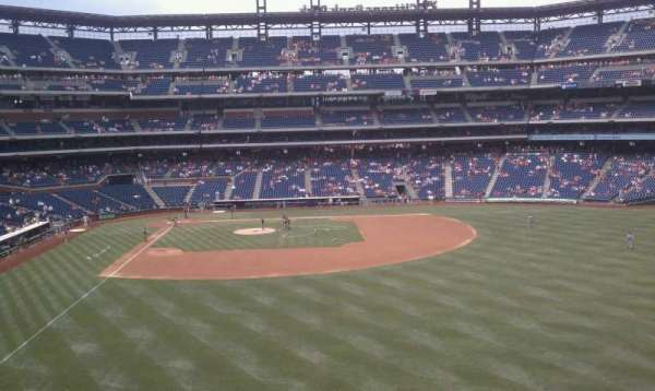 Citizens Bank Park, section: 204, row: 1, seat: 3