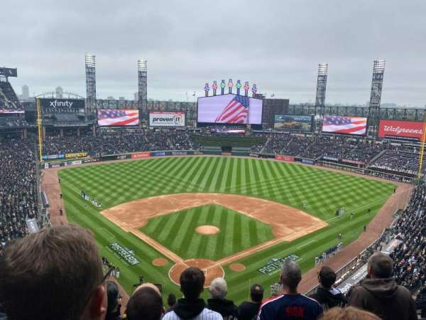 Guaranteed Rate Field, section: 531, row: 9, seat: 8