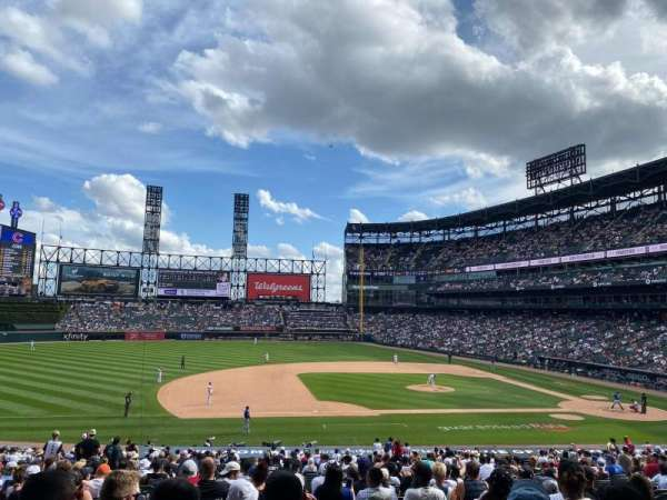 Guaranteed Rate Field, section: 141, row: 34, seat: 8