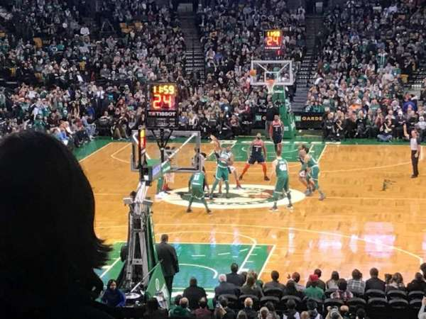 TD Garden, section: Loge 6, row: 23, seat: 23