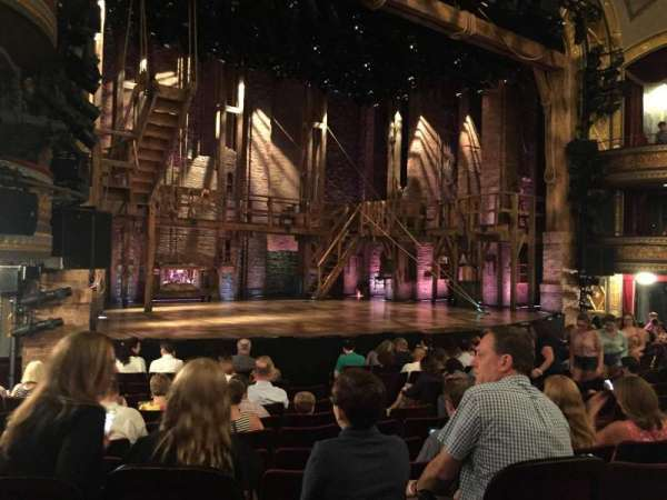 Richard Rodgers Theatre, section: Orchestra L, row: L, seat: 19