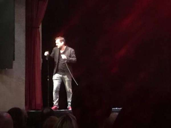 Hard Rock Live Orlando, section: Center, row: K, seat: 16