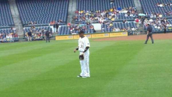 PNC Park, section: 136, row: A, seat: 13