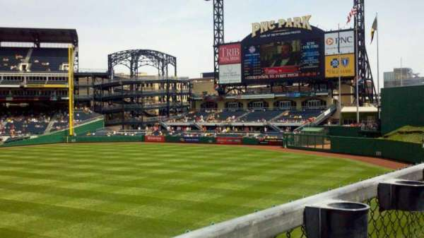 PNC Park, section: 145, row: A, seat: 16