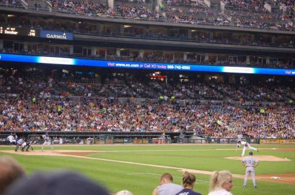 Comerica Park, section: 117, row: 22, seat: 19