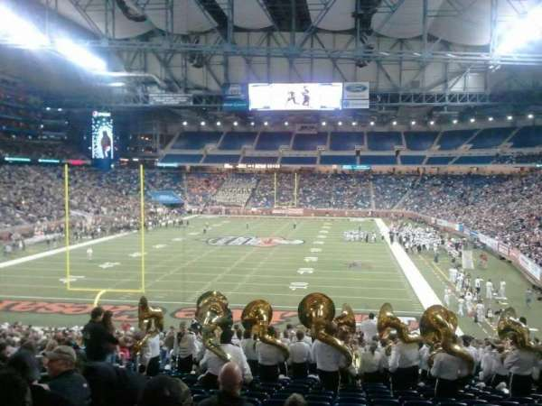 Ford Field, section: 117, row: 14, seat: 6