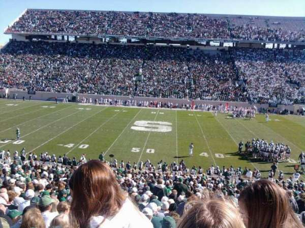 Spartan Stadium, section: 23, row: 38