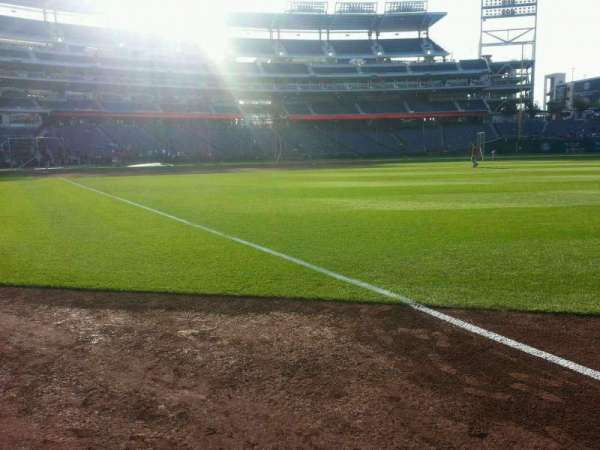 Nationals Park, section: 135, row: a, seat: 7