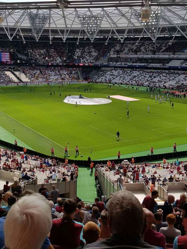 London Stadium, section: 245, row: 52, seat: 159