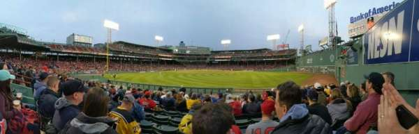 Fenway Park, section: Bleacher 40, row: 11, seat: 3