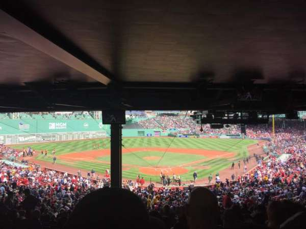 Fenway Park, section: Grandstand 21, row: HH, seat: 20