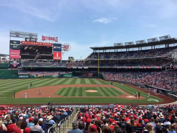 Nationals Park, section: 117, row: WW, seat: 5-6