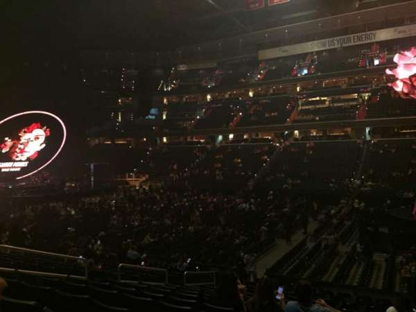Capital One Arena, section: 101, row: P, seat: 10