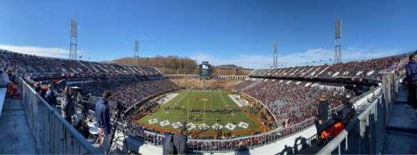Scott Stadium, section: 520, row: D, seat: 6