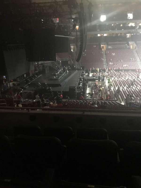 Wells Fargo Center, section: CB23, row: 4, seat: 15