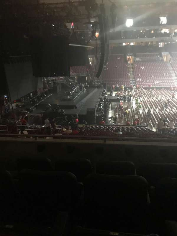Wells Fargo Center, section: CB23, row: 4, seat: 15
