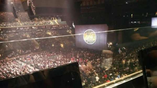 Madison Square Garden, section: 209, row: 1, seat: 8