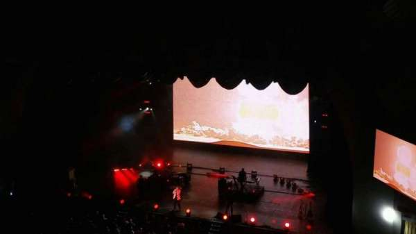 Radio City Music Hall, section: 3rd Mezzanine 2, row: A, seat: 205