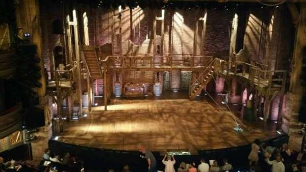 Richard Rodgers Theatre, section: Front Mezzanine C, row: A, seat: 112