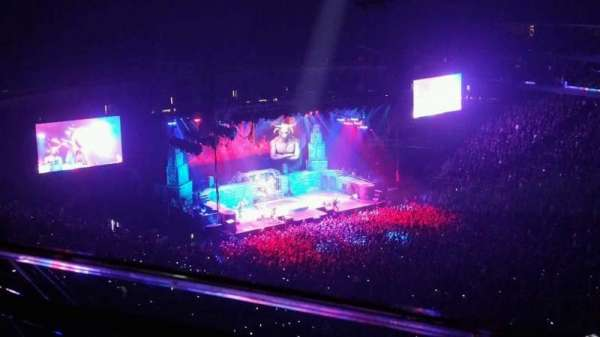 Prudential Center, section: 233, row: 1, seat: 6