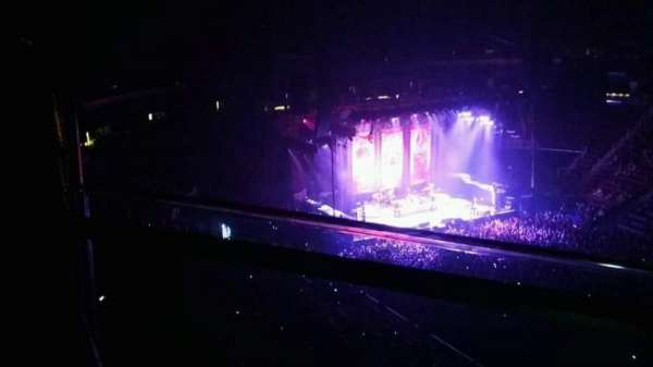 Prudential Center, section: 233, row: 1, seat: 8