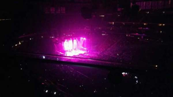 Prudential Center, section: 233, row: 1, seat: 7