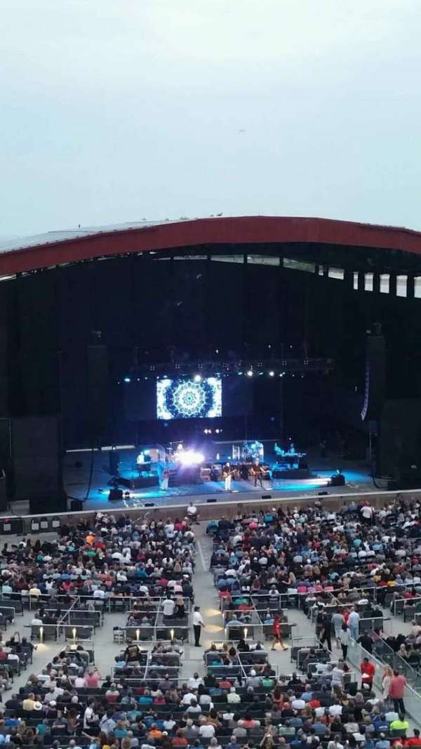 Jones Beach Theater, section: 24, row: A, seat: 2