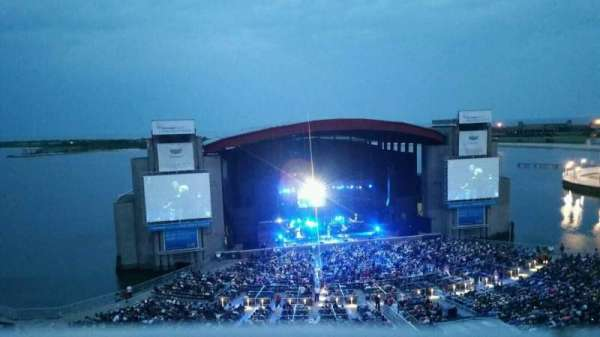 Jones Beach Theater, section: 24, row: A, seat: 1