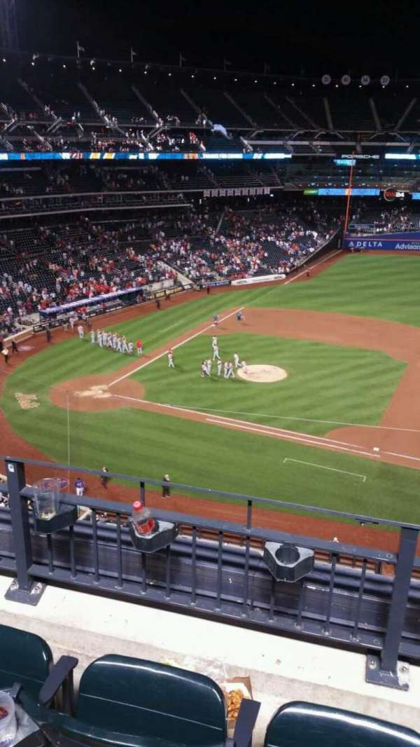 Citi Field, section: 407, row: 3, seat: 9